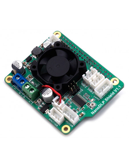 NanoDLP Shield V1.1 Expansion Board