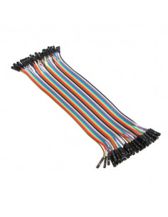 40pcs 20cm Female to Female Jumper Cable Dupont Wire For Arduino