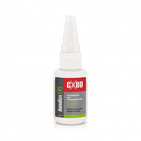 CX80 Bondicx 06 klej do tworzyw sztucznych i gumy 20g