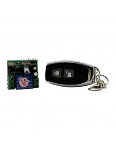Remote relay 12V + remote control 433MHz