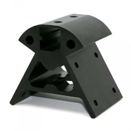 Narożnik do silnika drukarki DELTA KOSSEL 20x20 - czarny