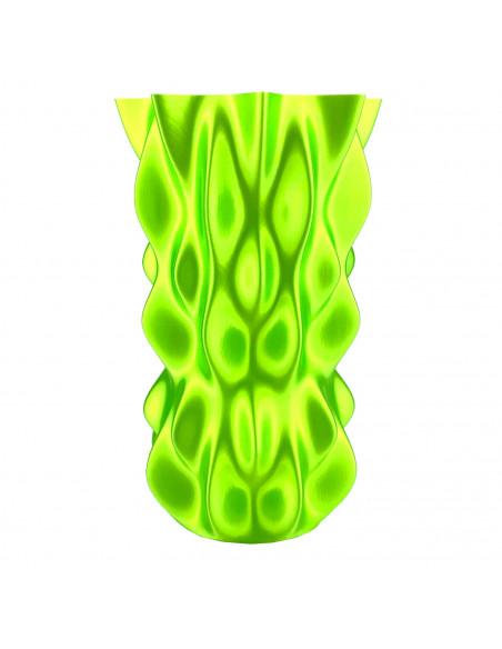 Filament Fiberlogy FiberSilk Metallic - 1,75mm 0,5 kg - light green