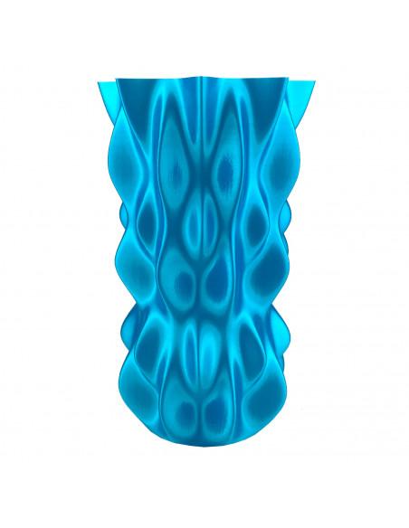 Filament Fiberlogy FiberSilk Metallic - 1,75mm 0,5 kg - turquoise