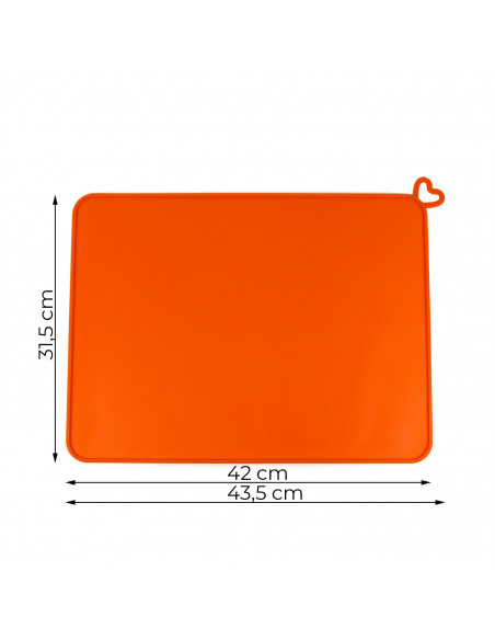 Silicon mat for DLP/LED printers