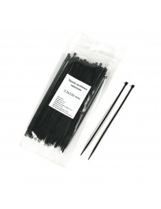 Nylon zip ties 2,5x150mm - 100pcs
