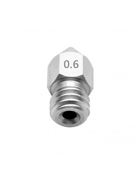 Titanium nozzle for E3D V6 0,6 mm 1,75 mm - substitute