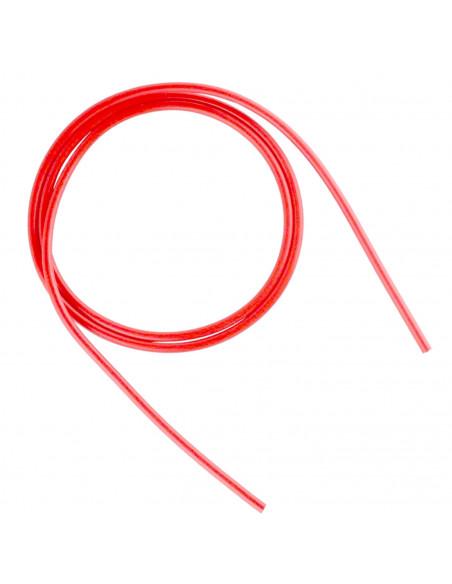 Rurka teflonowa PTFE  2mm / 4mm 1 m. b.- czerwona