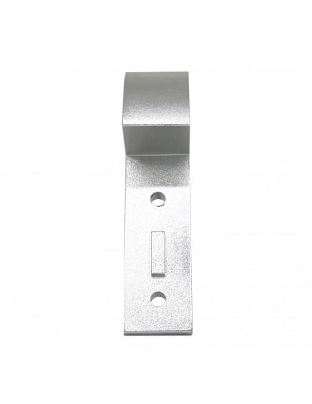 Narożnik konstrukcyjny DELTA KOSSEL 20x20 - srebrny