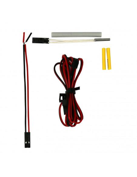 Temperature sensor Semitec 104GT-2 with plug for E3D