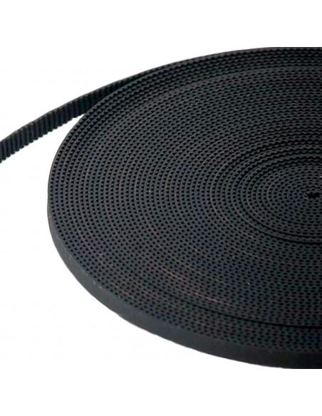 GT2 6x2mm timing belt (fiberglass) - per meter