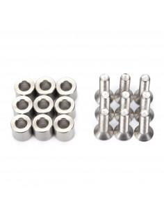 Aluminiowy dystans 6x6x3mm - zestaw