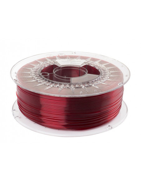 Spectrum Filament PET-G 1.75mm Transparent Red 1kg