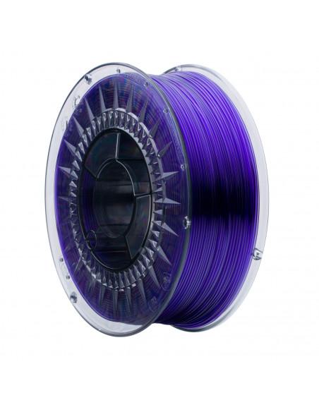 Filament PRINT-ME Swift PET-G Transparent Violet Glass 1kg