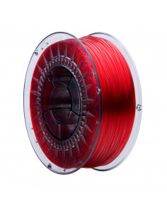 Filament PRINT-ME Swift PET-G Transparent Rubin Red 250g