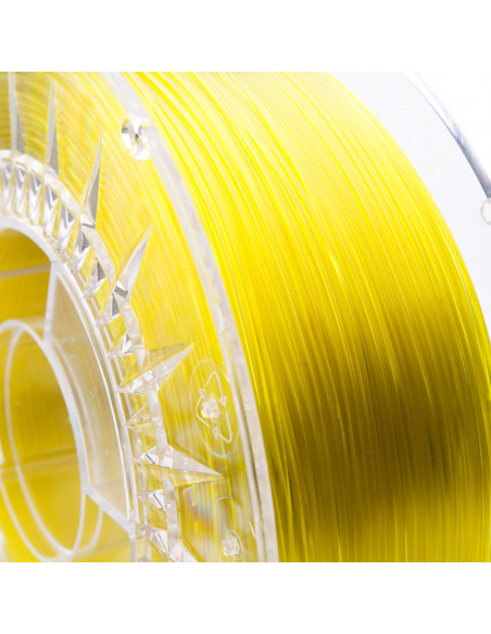 Filament PRINT-ME Swift PET-G Transparent Yellow Glass 1kg