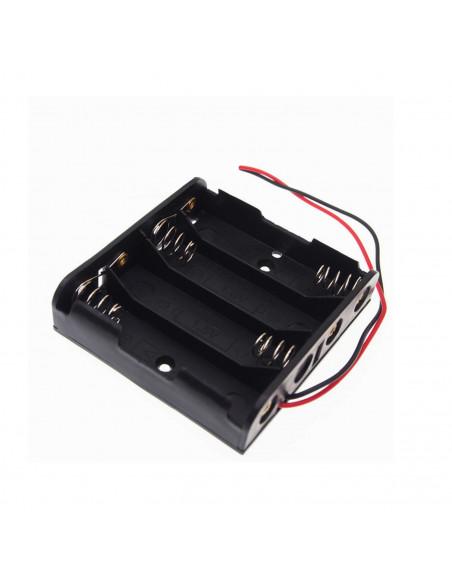 Koszyk na baterie 4x1 na 4 baterie AA
