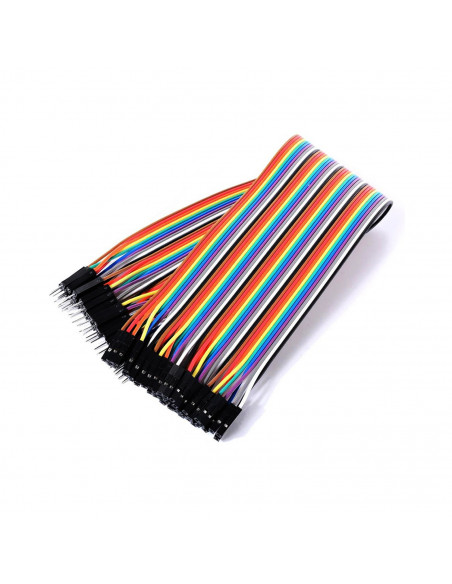 Connecting cables male-female Arduino 20 cm (40 pcs.)