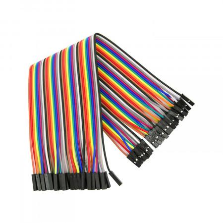 Przewody połączeniowe żeńsko-żeńskie 30 cm Arduino (40 szt.)