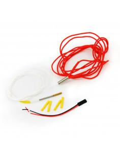 Hotend 12V / 40W cable 1m - ceramic heater for Hemera