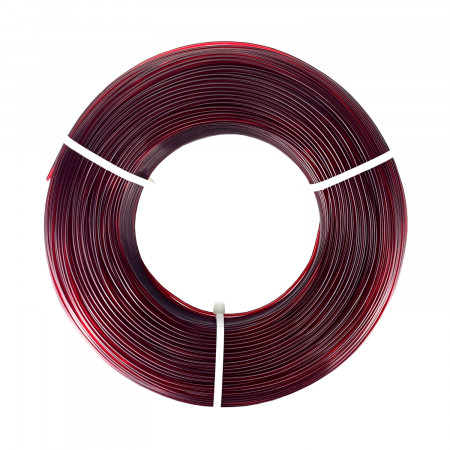 Filament FIBERLOGY Refill EASY PET-G 1,75mm - burgundy transparent