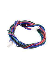 Kabel silnika krokowego 150 cm XT2.5 4pin-6pin Druk 3D
