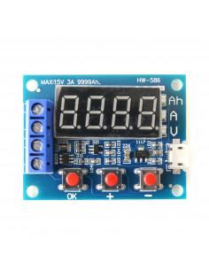Tester pojemności akumulatorów HW586