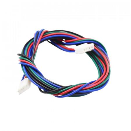 Kabel silnika krokowego 100 cm XT2.5 4pin-6pin Druk 3D