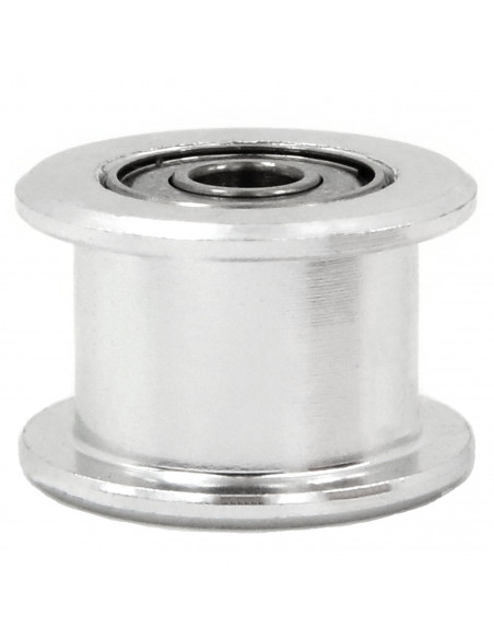 Smooth idler 6mm belt - 16 tooth equivalent - 3mm ID