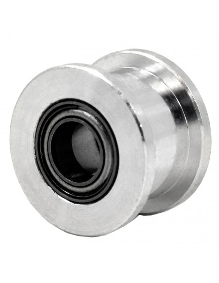 Remake 3D smooth idler 6mm belt - 20 tooth equivalent - 5mm ID