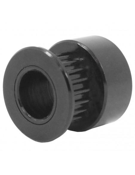 GT2 zębatka 20 zębów na śrubę otw. 8 mm black