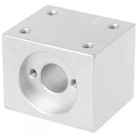 Lead Screw Nut Housing Bracket for TR8 nut silver