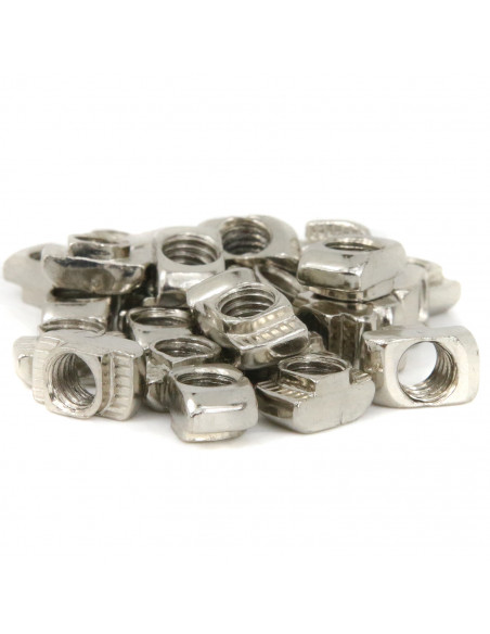 M6 hammer nut for 3030 extrusions 8 mm groove - 10 pieces