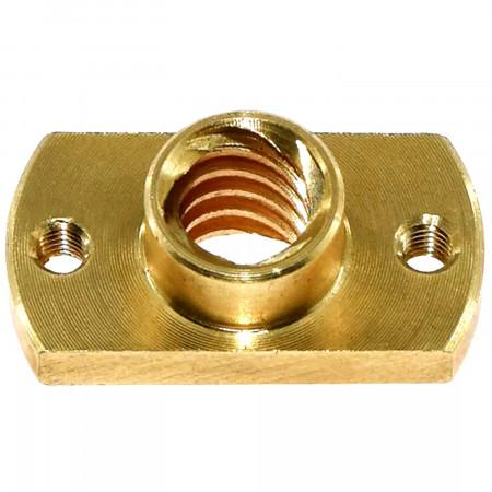 Lead screw nut Tr8x8 - chamfered