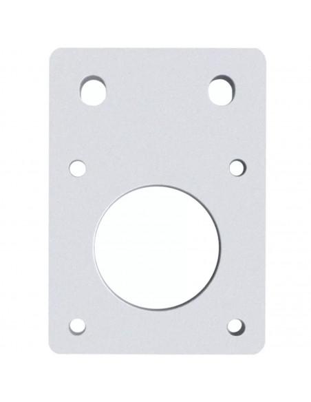 Motor mounting plate NEMA 17 - silver
