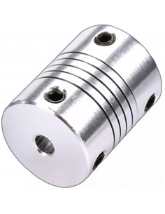 Flexible motor coupling 5x8mm