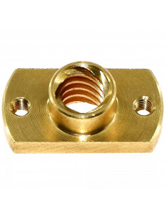 Lead screw nut Tr8x2 - chamfered