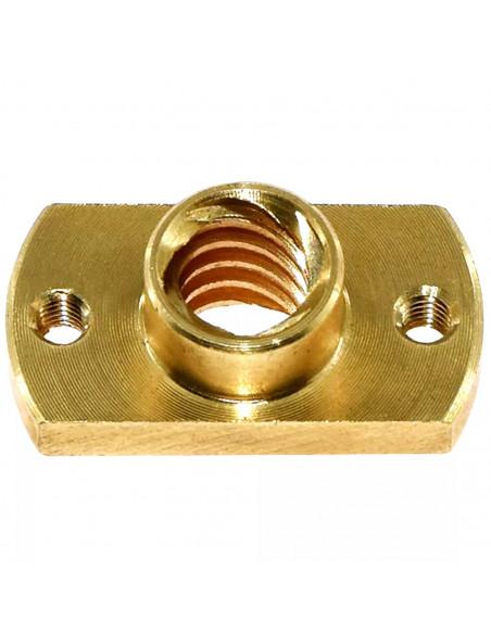 Lead screw nut Tr8x2 - chamfered