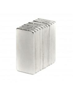 Neodymium magnet 10x5x1mm - 10 pcs.