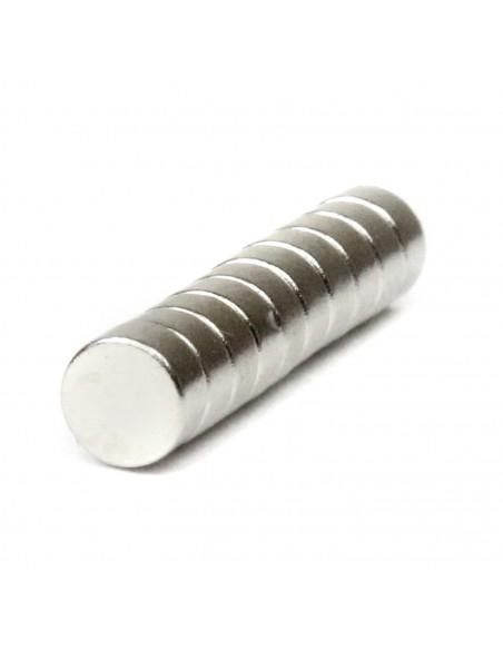 Neodymium magnet 4x2mm 10 pcs.