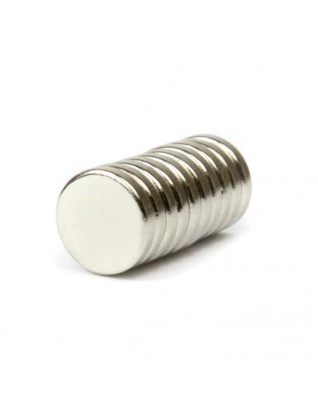 Magnes neodymowy 10x2mm - 10 szt.
