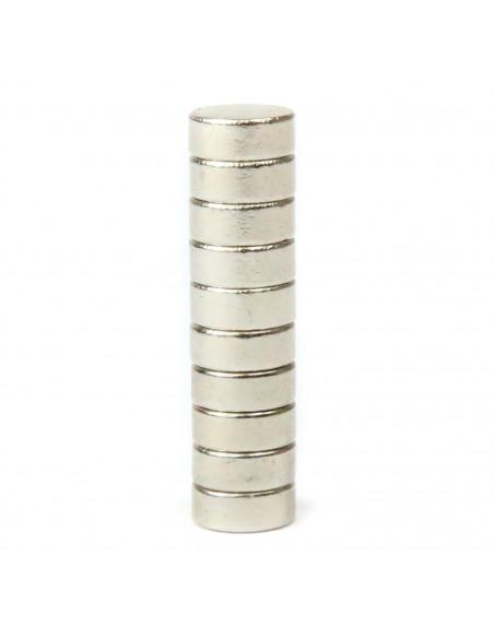 Magnes neodymowy 5x2mm - 10 szt.