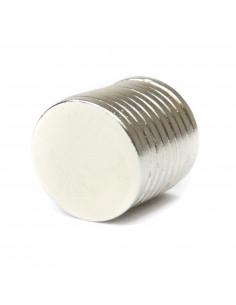 Neodymium magnet 17x2mm - 10 pcs.