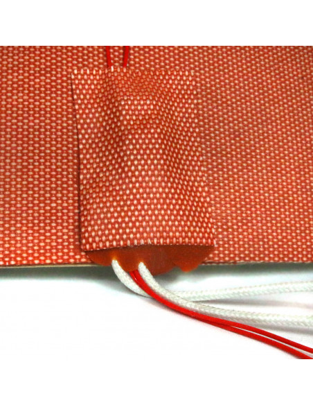 Silicon heater mat 400x400mm 230V 1000W