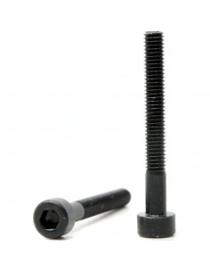 Socket Head Cap Screws M3x25mm DIN 912 ISO 4762 - black