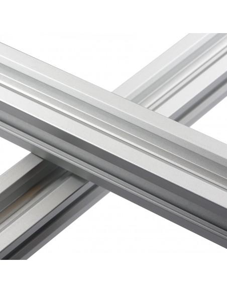 ALTRAX aluminium profile 2020 V-SLOT type - silver