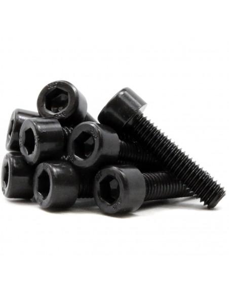 Socket Head Cap Screws M6x25mm DIN 912 ISO 4762 - black