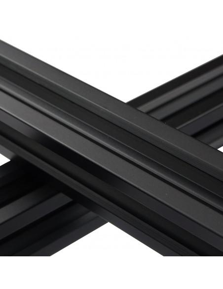 ALTRAX aluminium profile 2020 V-SLOT type - black