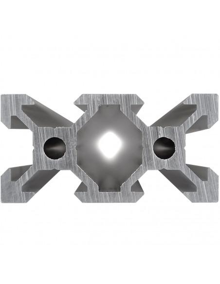 ALTRAX aluminium profile 2040 V-SLOT type - silver