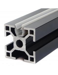 Gasket strip U-type for 3030 profile - grey