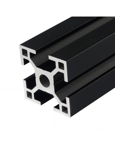 Profil aluminiowy ALTRAX 3030 T-SLOT 50cm - czarny mat